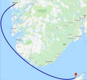 Mit dem Auto nach Norwegen: Fährverbindung zwischen Hirtshals und Bergen