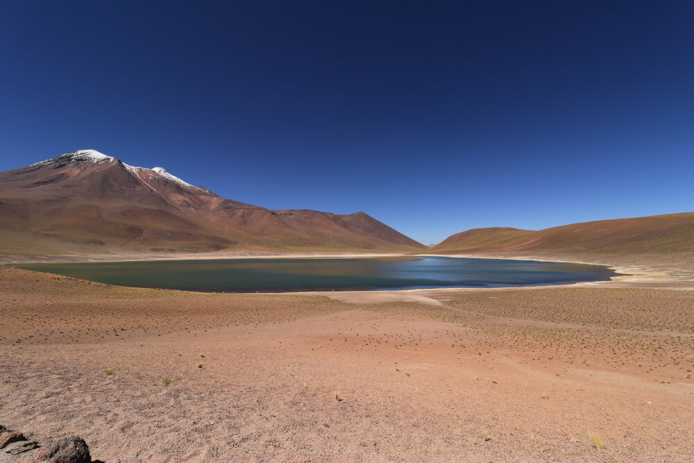Laguna Miscanti in der Atacama Wüste in Chile