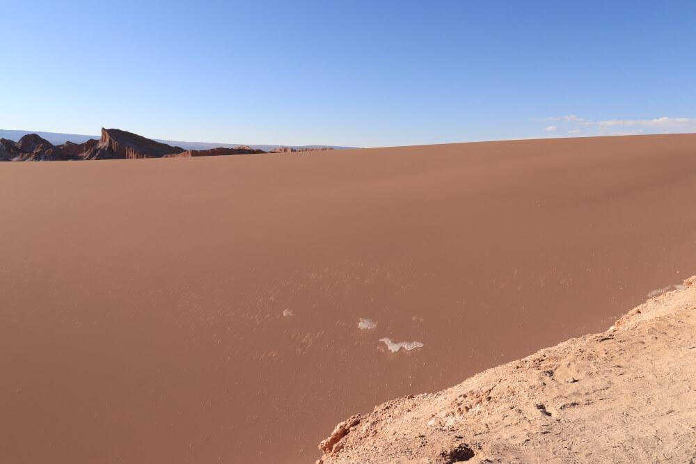 Sand im Valle de la Luna
