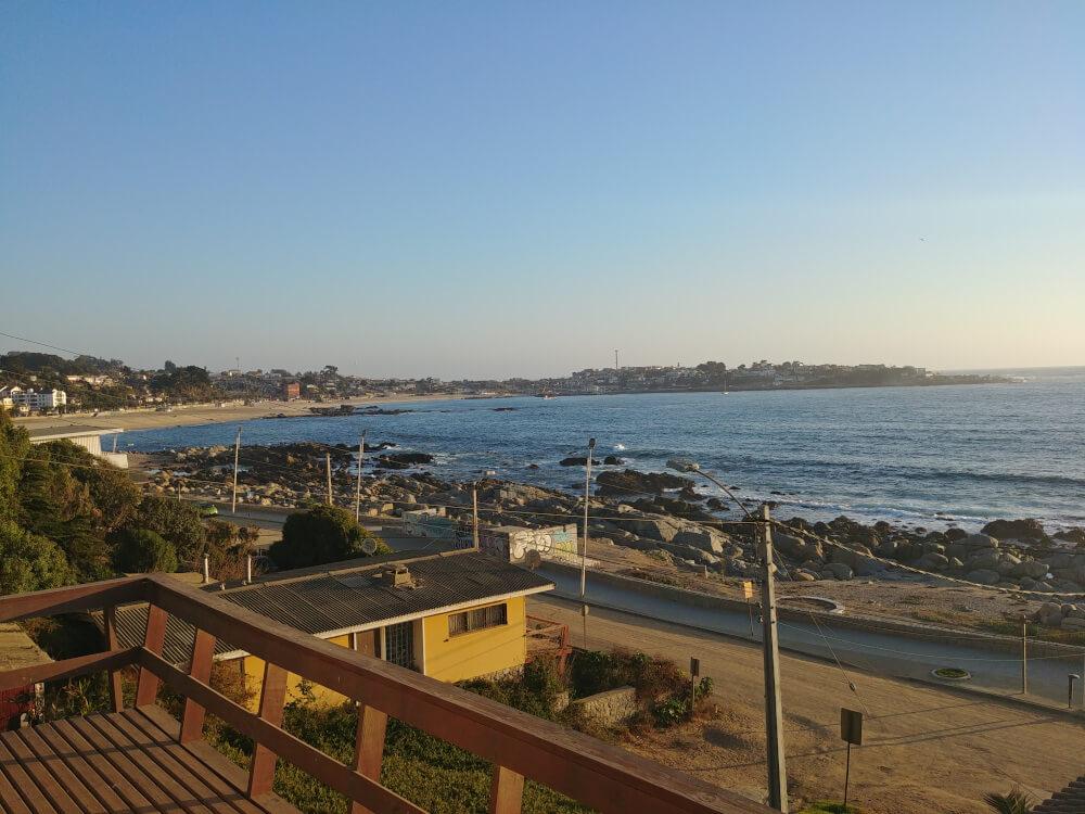 Strand von El Quisco Chile
