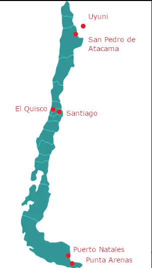 Chile Routenplanung