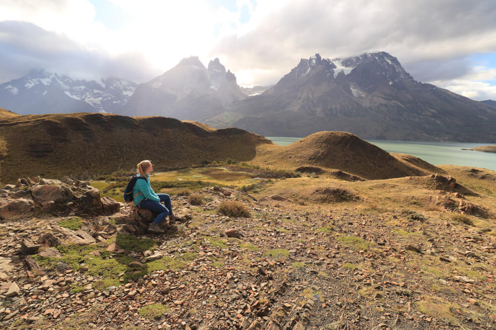 Torres del Paine Nationalpark in Patagonien Chile