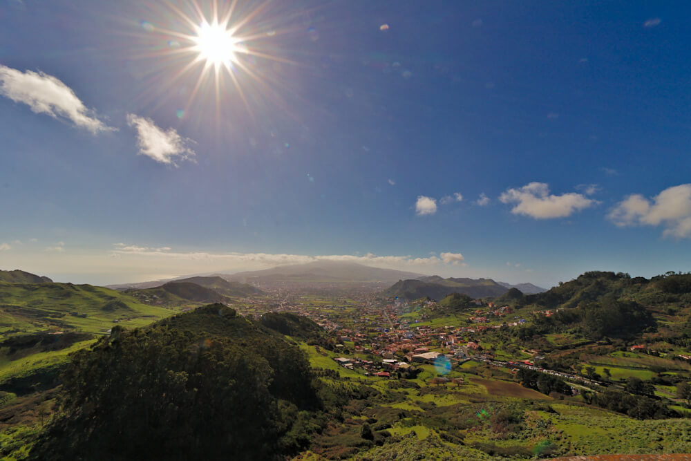 Mirador de Jardina auf Teneriffa