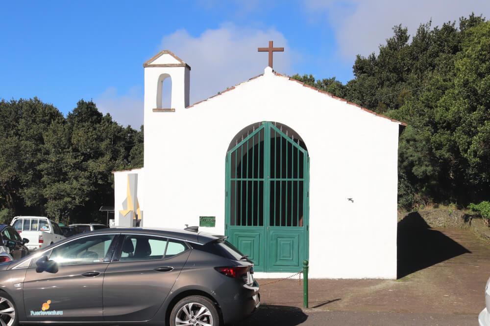 Kapelle am Mirador Cruz del Carmen auf Teneriffa