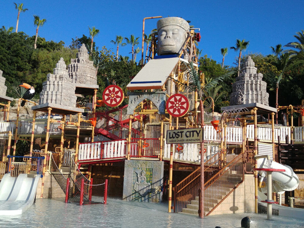 Lost City im Siam Park