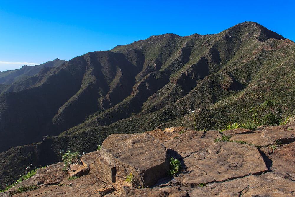 Bergkette in der Gegend um Masca
