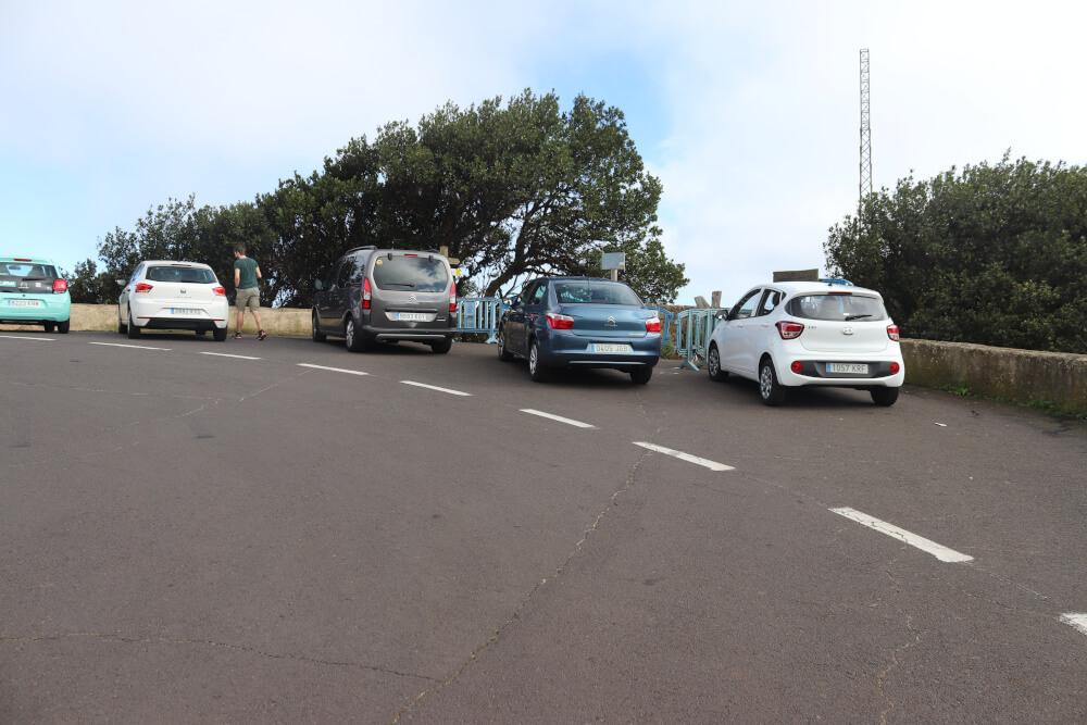 Parkplatz Mirador Pico del Inglés