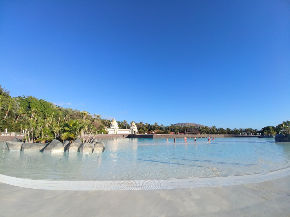Der Wave Palace im Siam Park Teneriffa