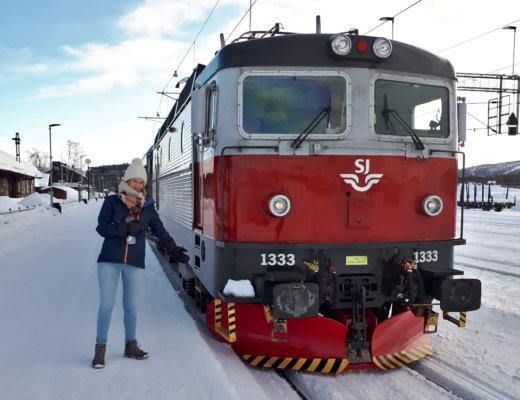Mit dem Zug nach Schweden