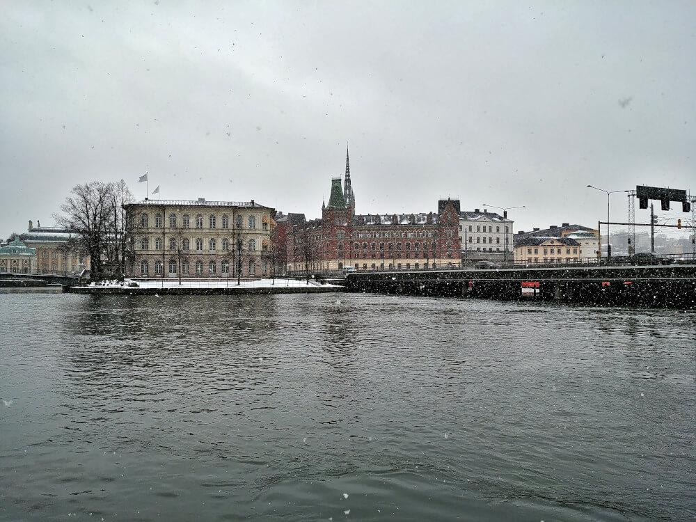 Ausblick auf Stockholm