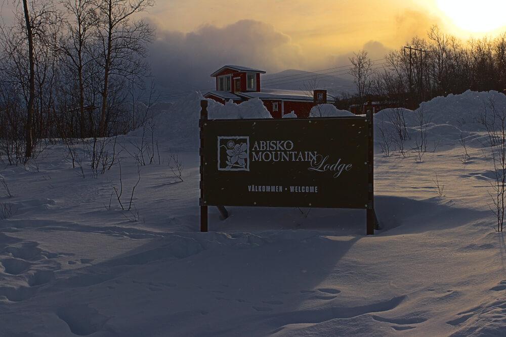 Abisko Mountain Lodge im Winter