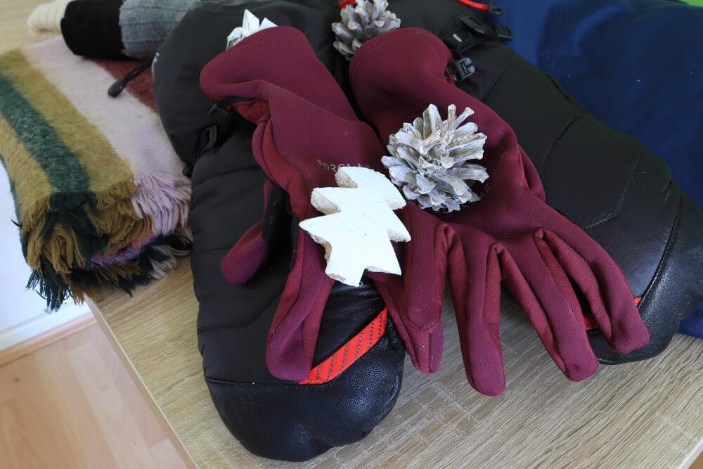 Handschuhe für Abisko im Winter