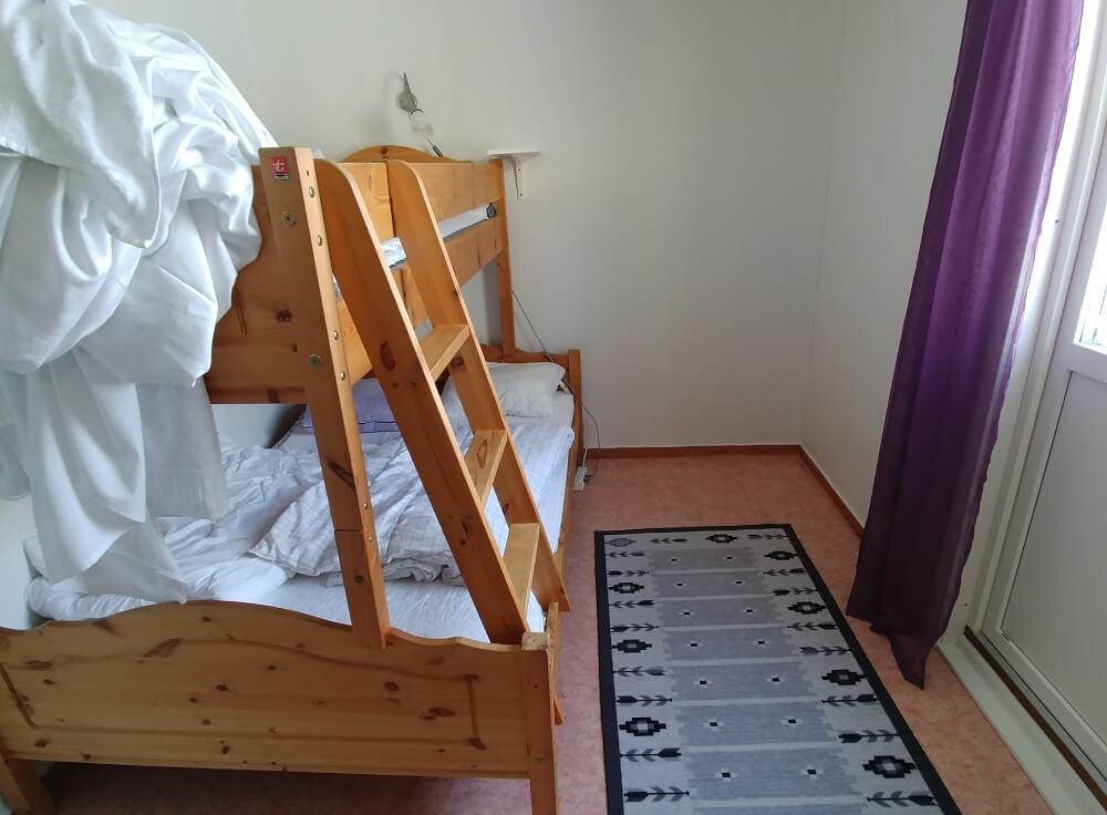 Zimmer mit Hochbett im Abisko Guesthouse