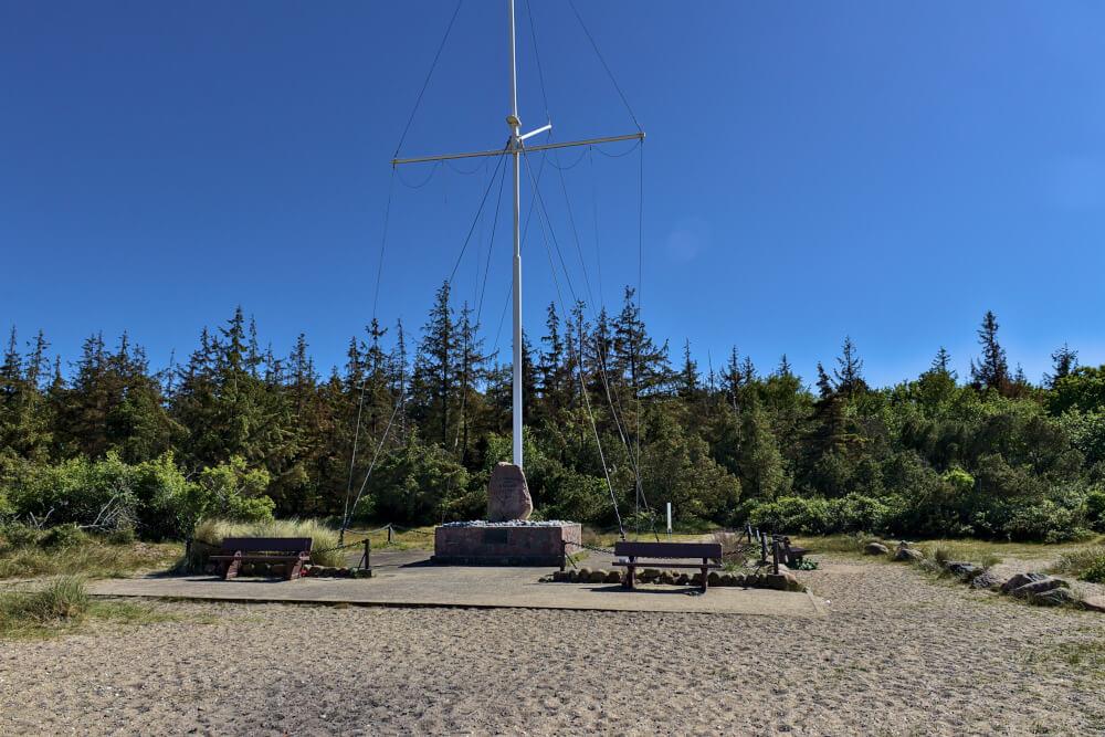 Niobe Denkmal am Gammendorfer Strand auf Fehmarn