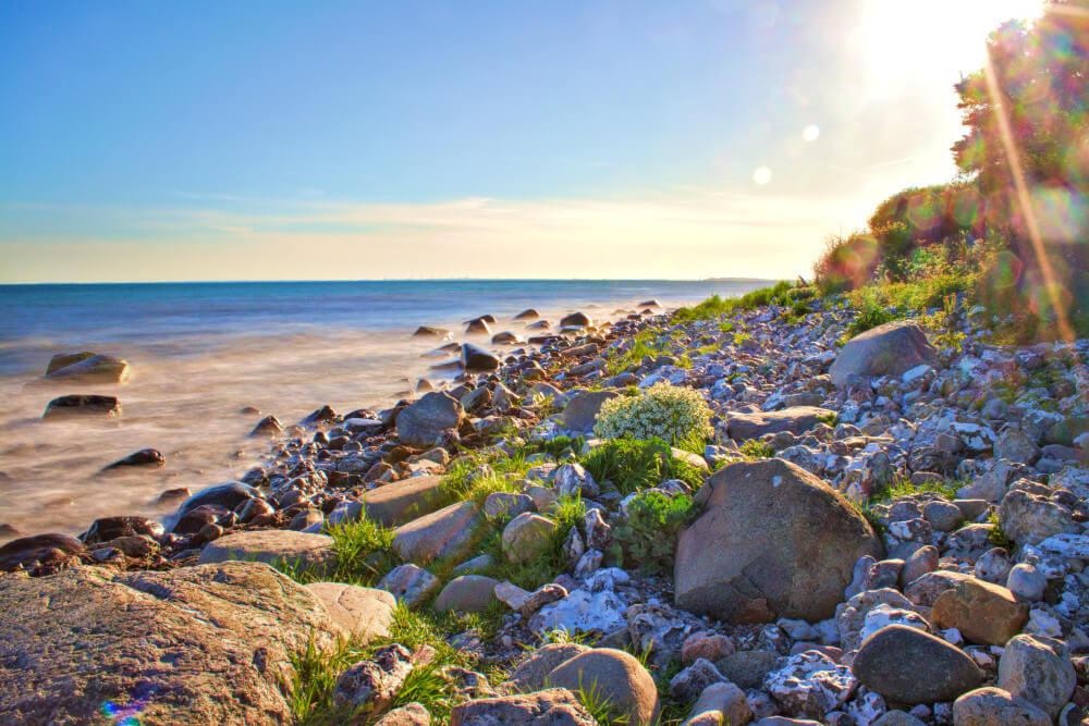 Strände auf Fehmarn: Steilküste Staberhuk