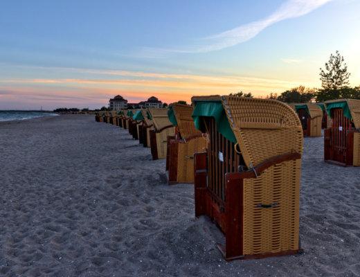 Fehmarn Tipps:Strandkörbe auf Fehmarn
