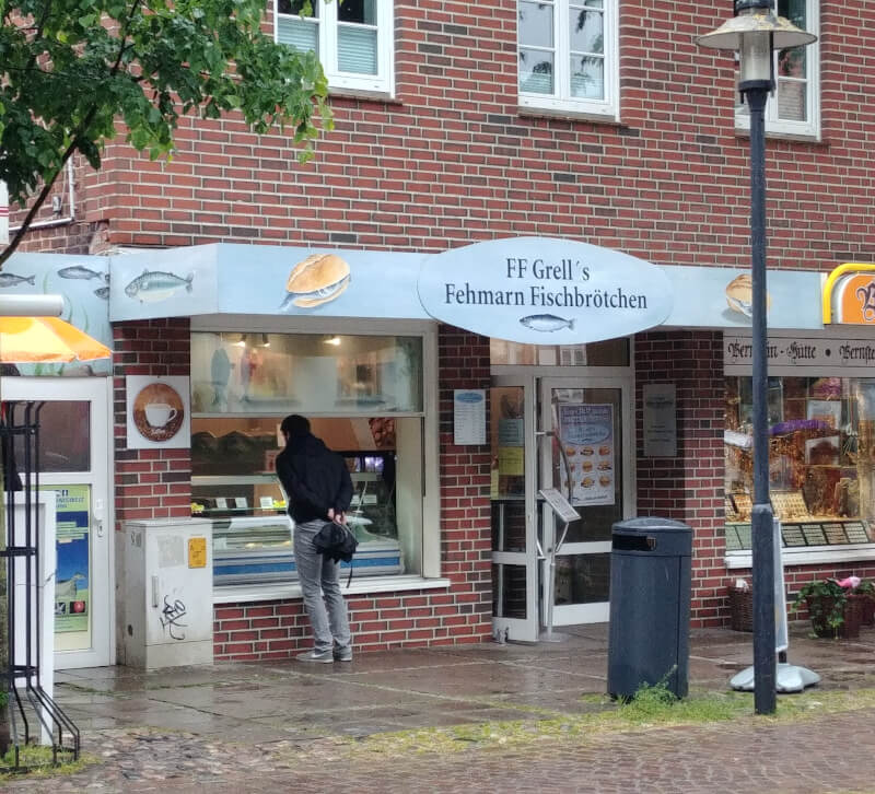 Restaurants auf Fehmarn: Grell's Fehmarn Fischbrötchen