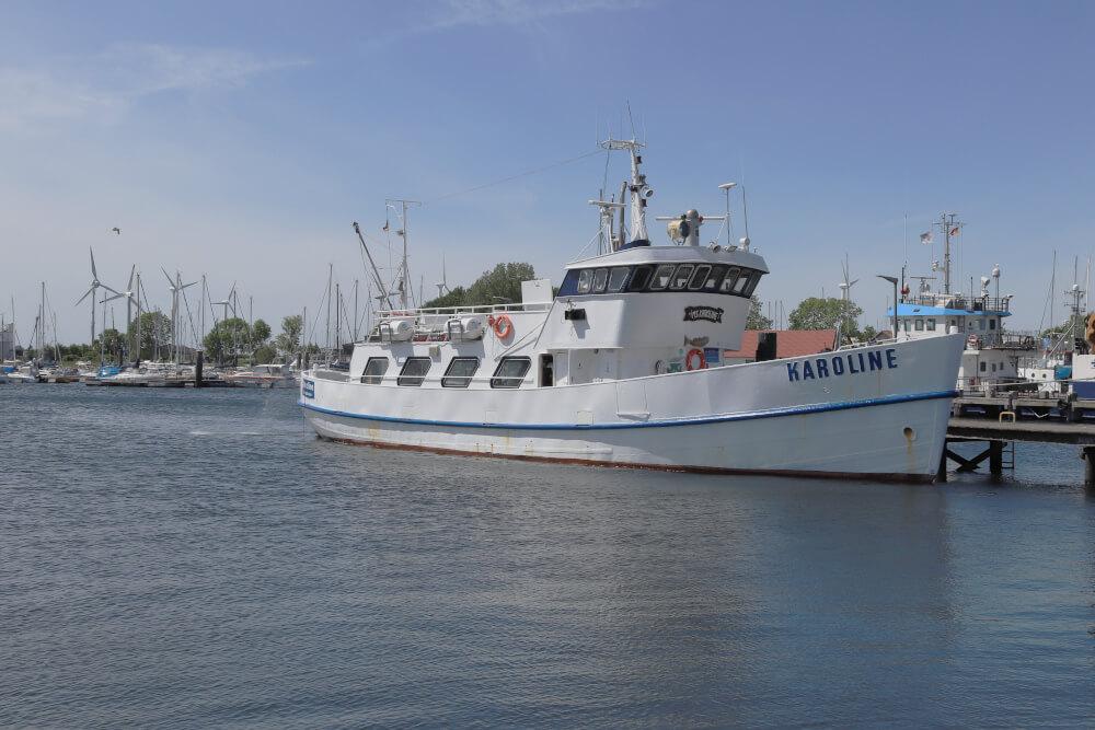 Ausflüge Fehmarn: Hafen von Burgstaaken auf Fehmarn