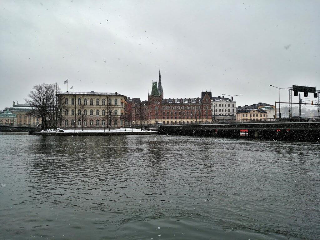 Stockholm in Schweden mit dem Camper