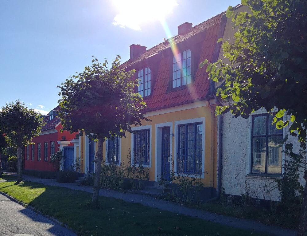 Kleinstadt in Südschweden