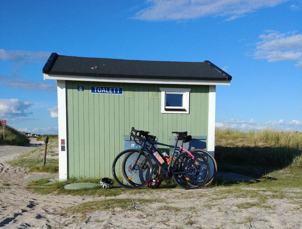 Mit dem Wohnmobil durch Schweden: Radfahren an Schwedens Südküste