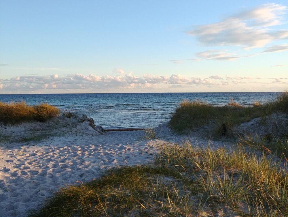 Strand in Südschweden